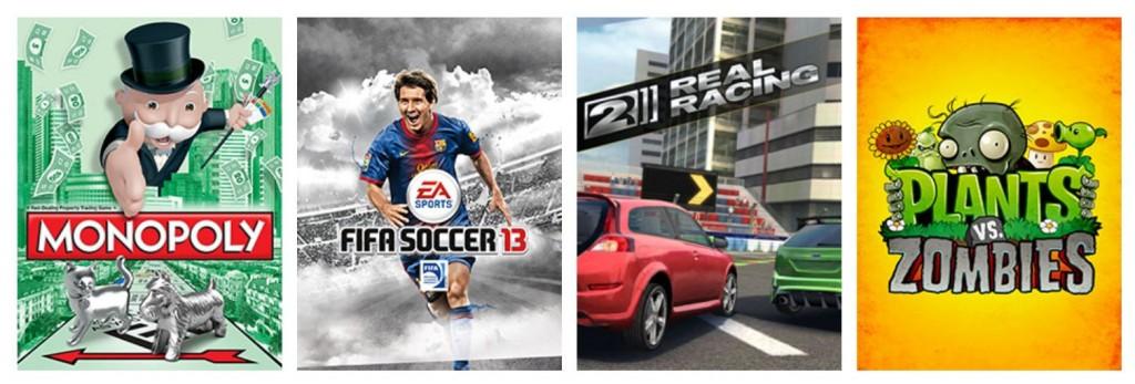Einige ausgewählte Spiele. (Foto: EA)