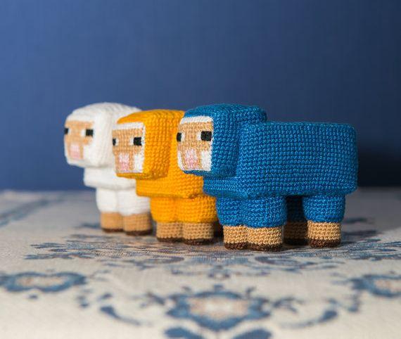 Häkelt euch eine Schafherde. (Foto: Etsy)