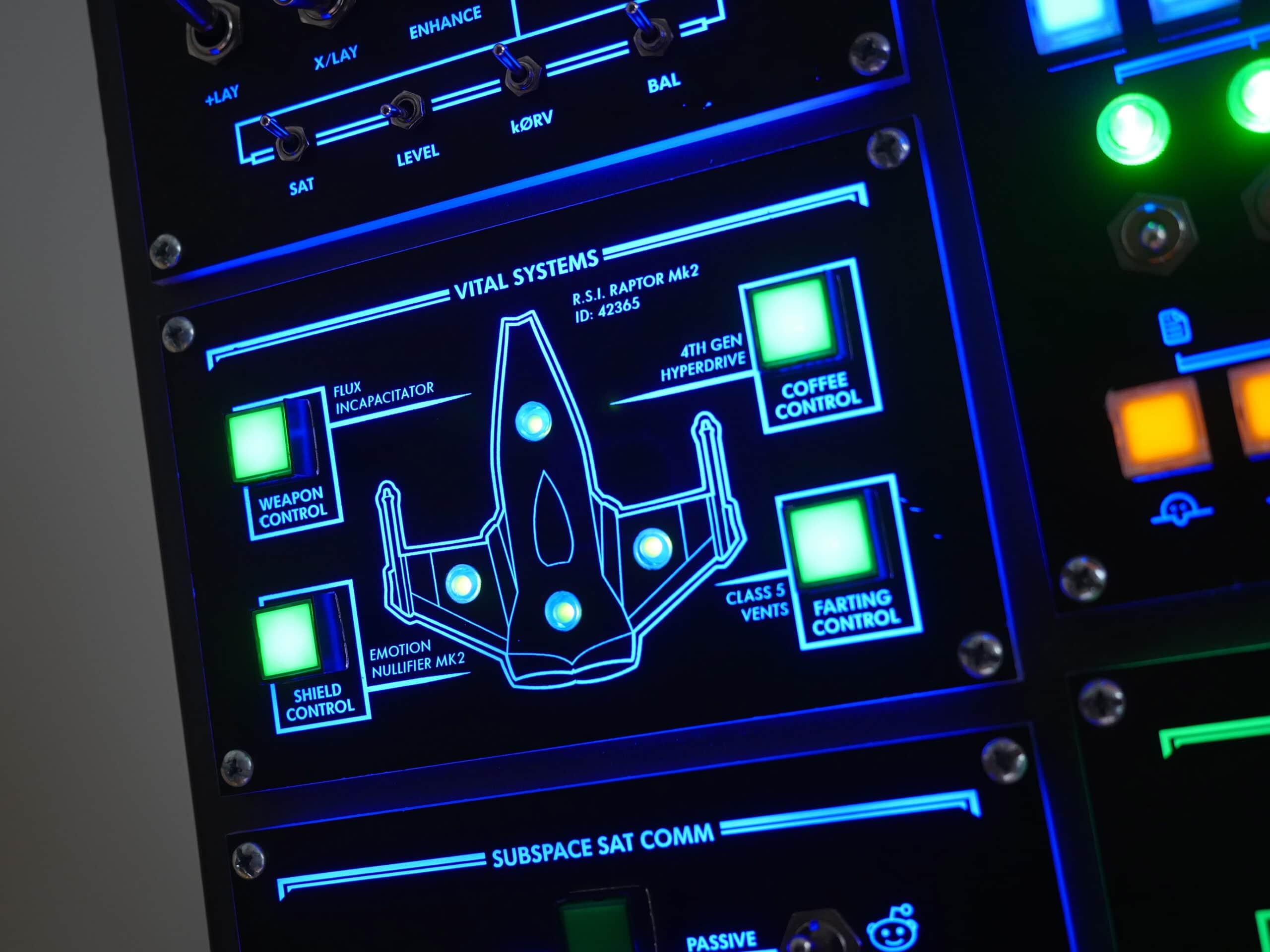 Raumschiff fürs Arbeitszimmer. (Foto: smashcuts)