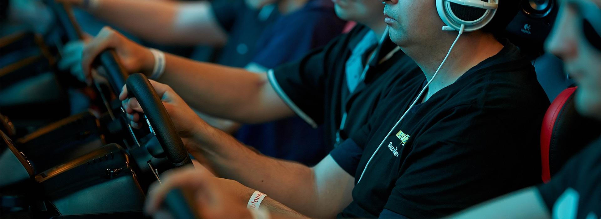 Die Expo ist für Spieler und Simulations-Interessierte. (Foto: SimRacing Expo)