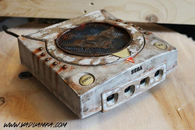 Die Dreamcast in voller Pracht. (Foto: Vadu Amka)