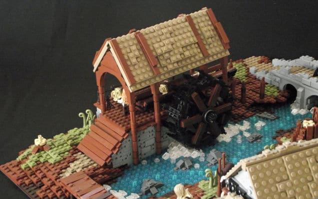 Die Mühle in ihrer Pracht. (Foto: Pieter Dennison)