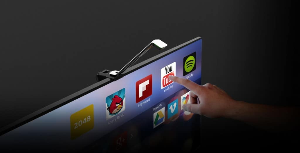 Sowas wie ein Touchscreen. (Foto: Touchjet)