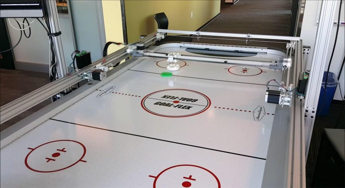 air hockey spielautomat mit windows 10 und mini rechner. Black Bedroom Furniture Sets. Home Design Ideas