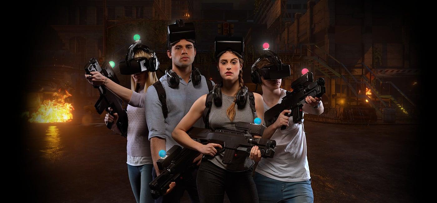 Virtual Reality selbst erleben. (Foto: Zero Latency)