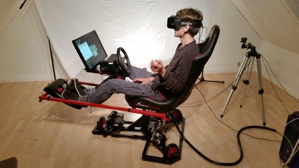 Das perfekte Erlebnis mit VR-Brille. (Foto: Tommy Frank)