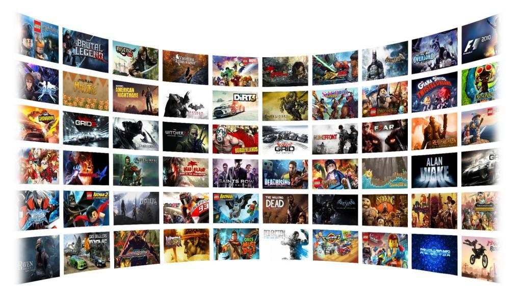 PC-Spiele als Stream. (Foto: Nvidia)