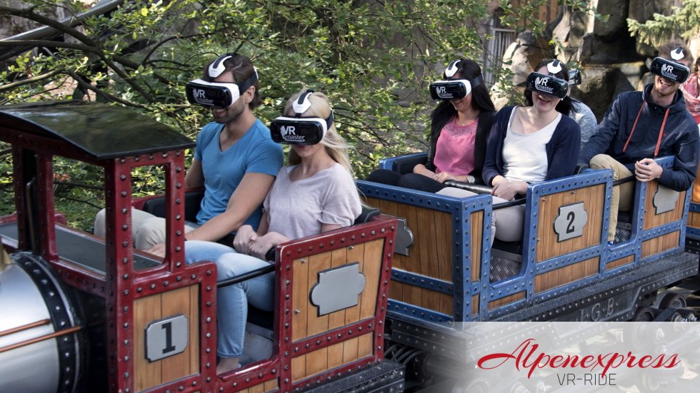Die VR-Zombies im Europa-Park. (Foto: Europa-Park)