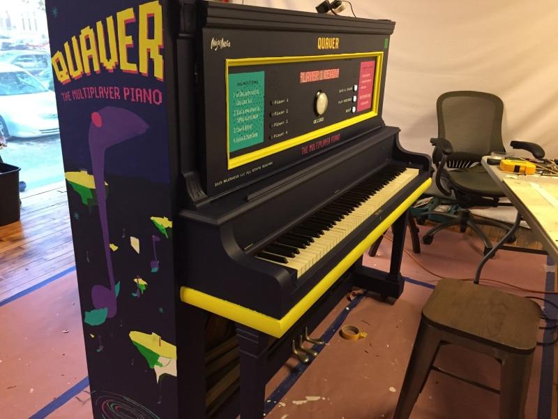 Das Klavier sieht entsprechend aus. (Foto: Screenshot)