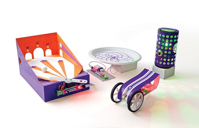Viele kuriose Maschinen. (Foto: littleBits)