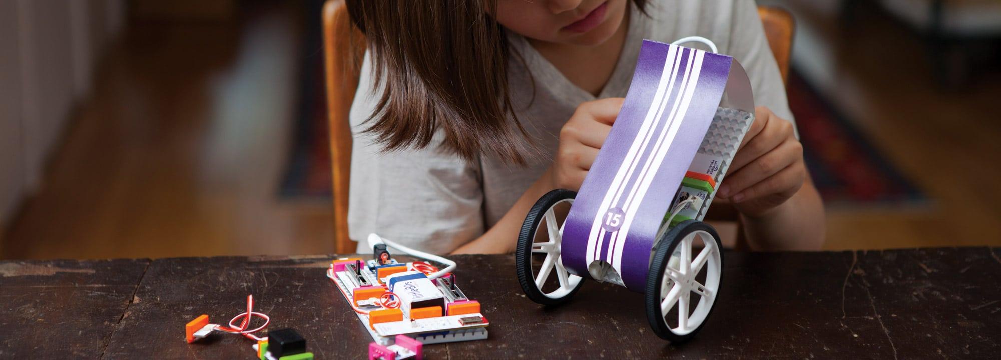 Bastlen und Tüfteln. (Foto: littleBits)