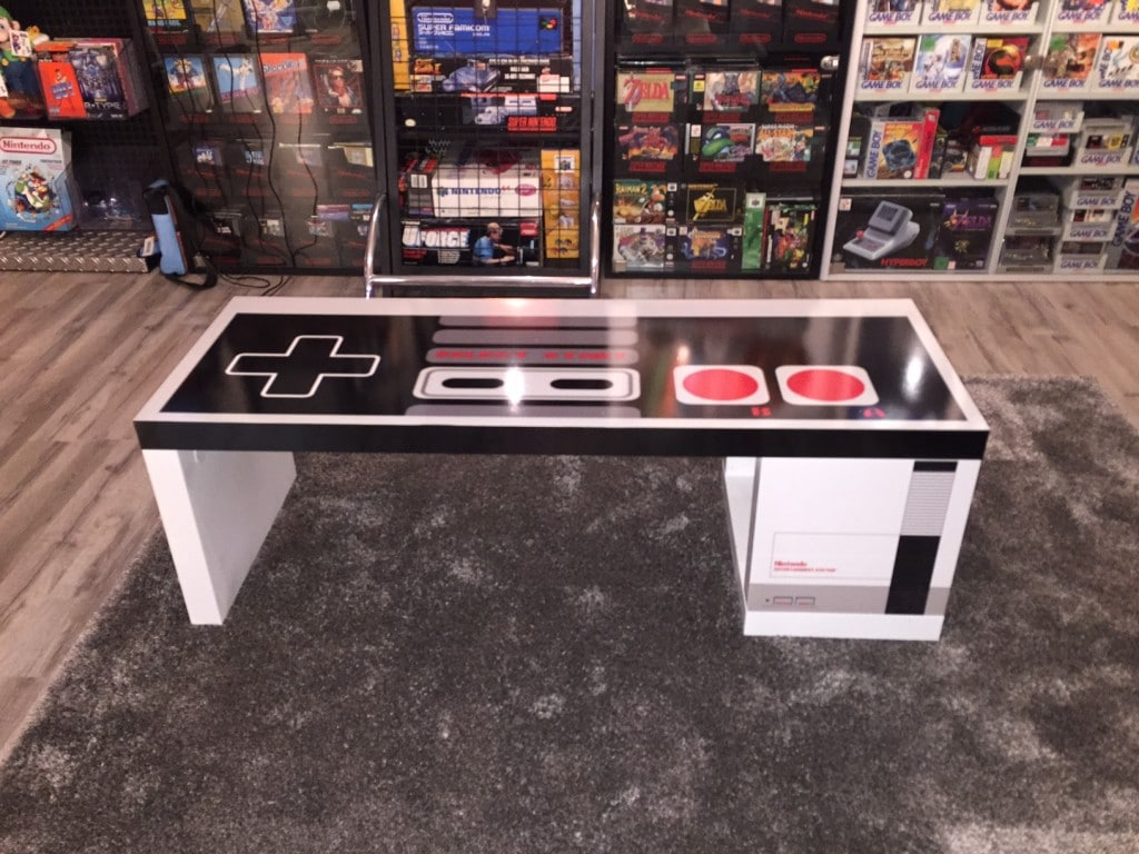 Der Tisch im Spielezimmer. (Foto: Ertan Metin)