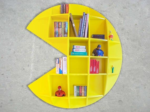 Pac-Man aufgehängt. (Foto: Etsy)