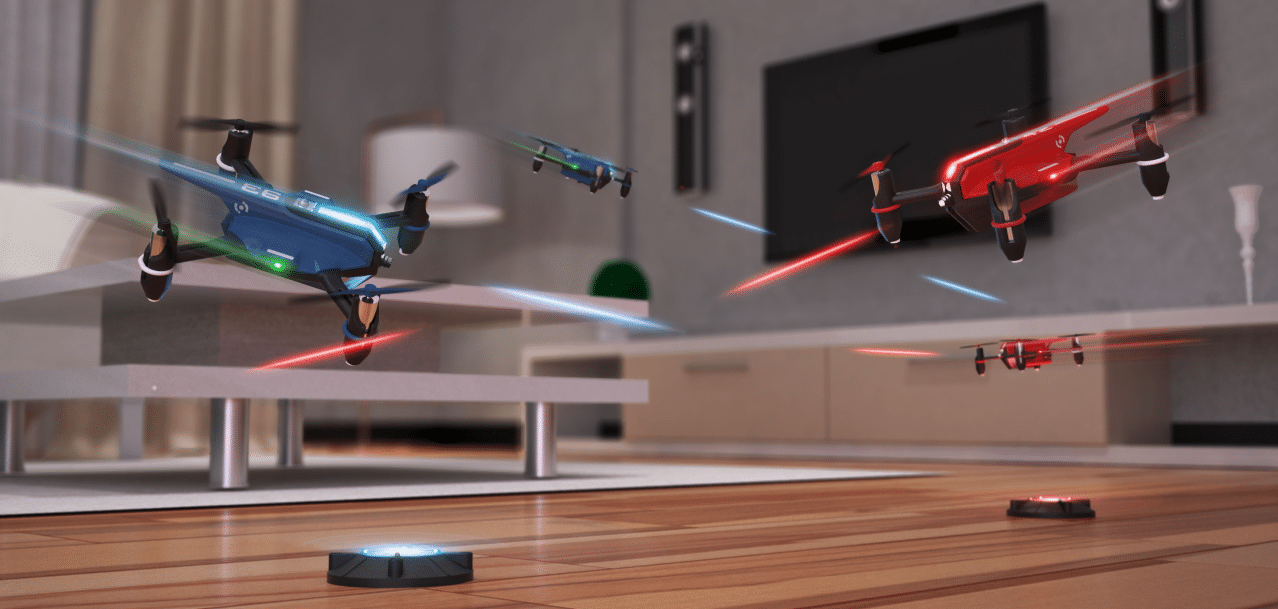 Action im Wohnzimmer. (Foto: Drone N'Base)