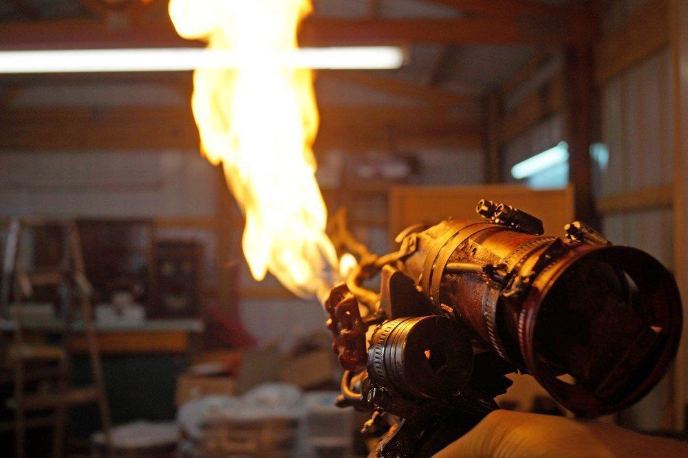 Feuer frei! (Foto: Makezine)