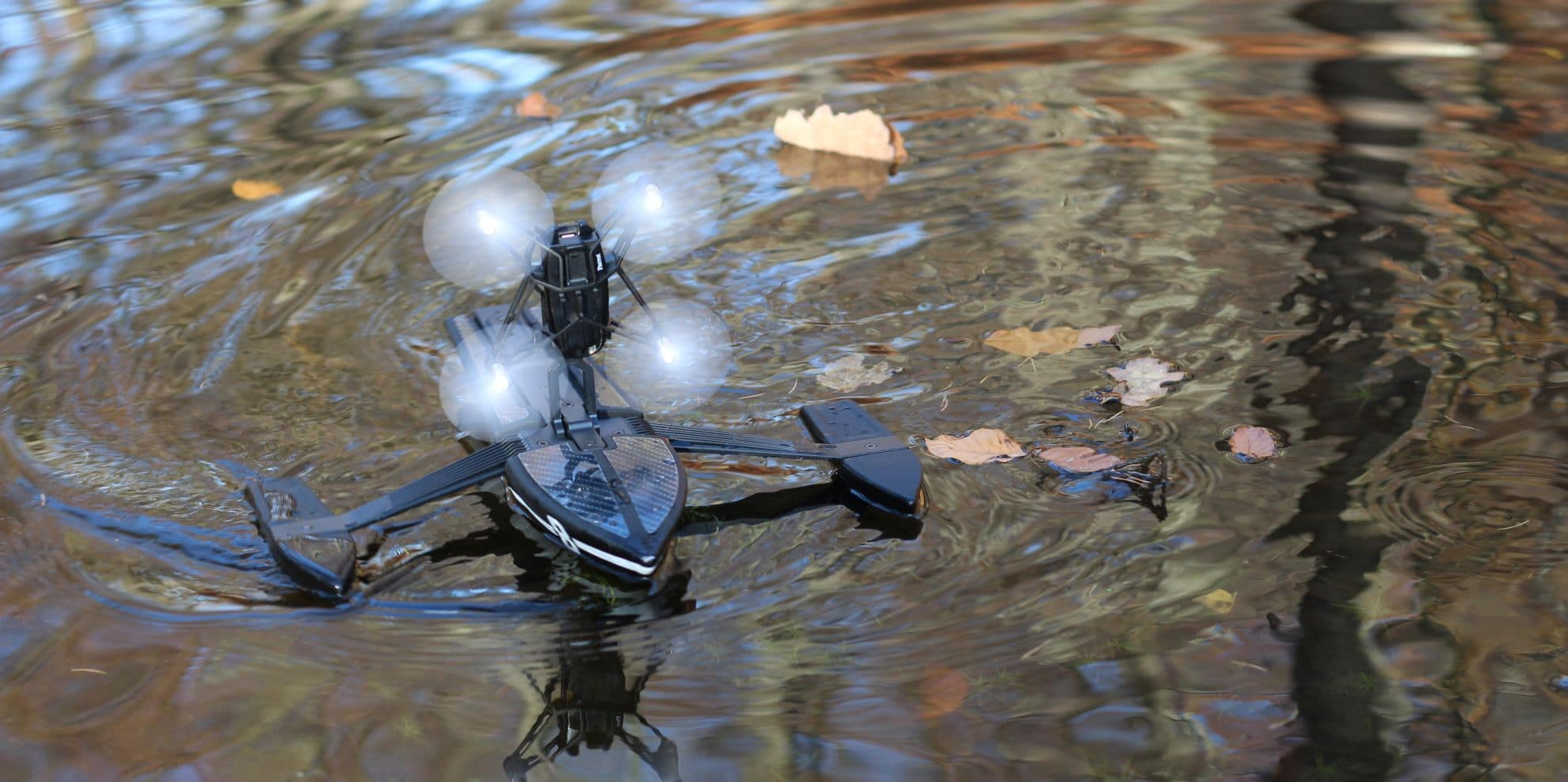 Action auf dem Wasser. (Foto: GamingGadgets.de)
