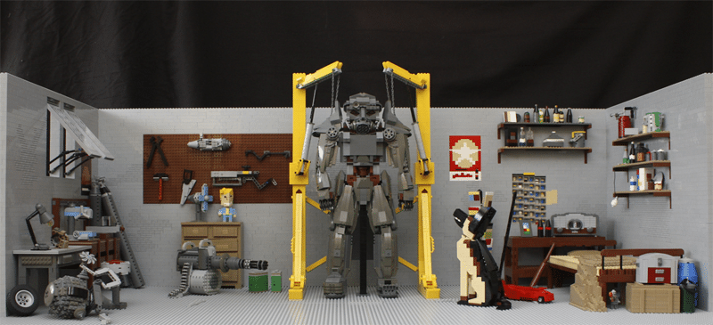 Coole LEGO-Basteleie. (Foto: Pierre Import)