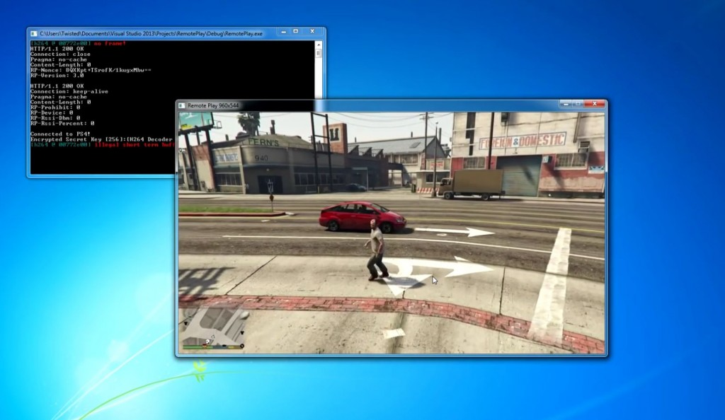 Die Konsolenversion von GTA V auf PC. (Foto: Screenshot / YouTube)