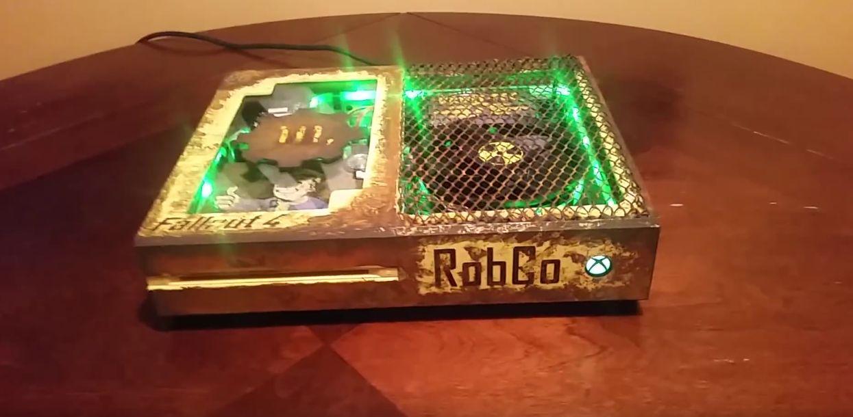 fallout 4 echte fans spielen nur mit dieser xbox one. Black Bedroom Furniture Sets. Home Design Ideas