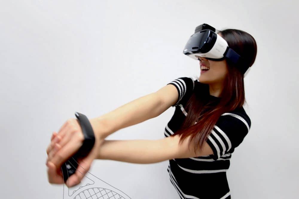 Eine Art Wii-Controller für VR? (Foto: Samsung)