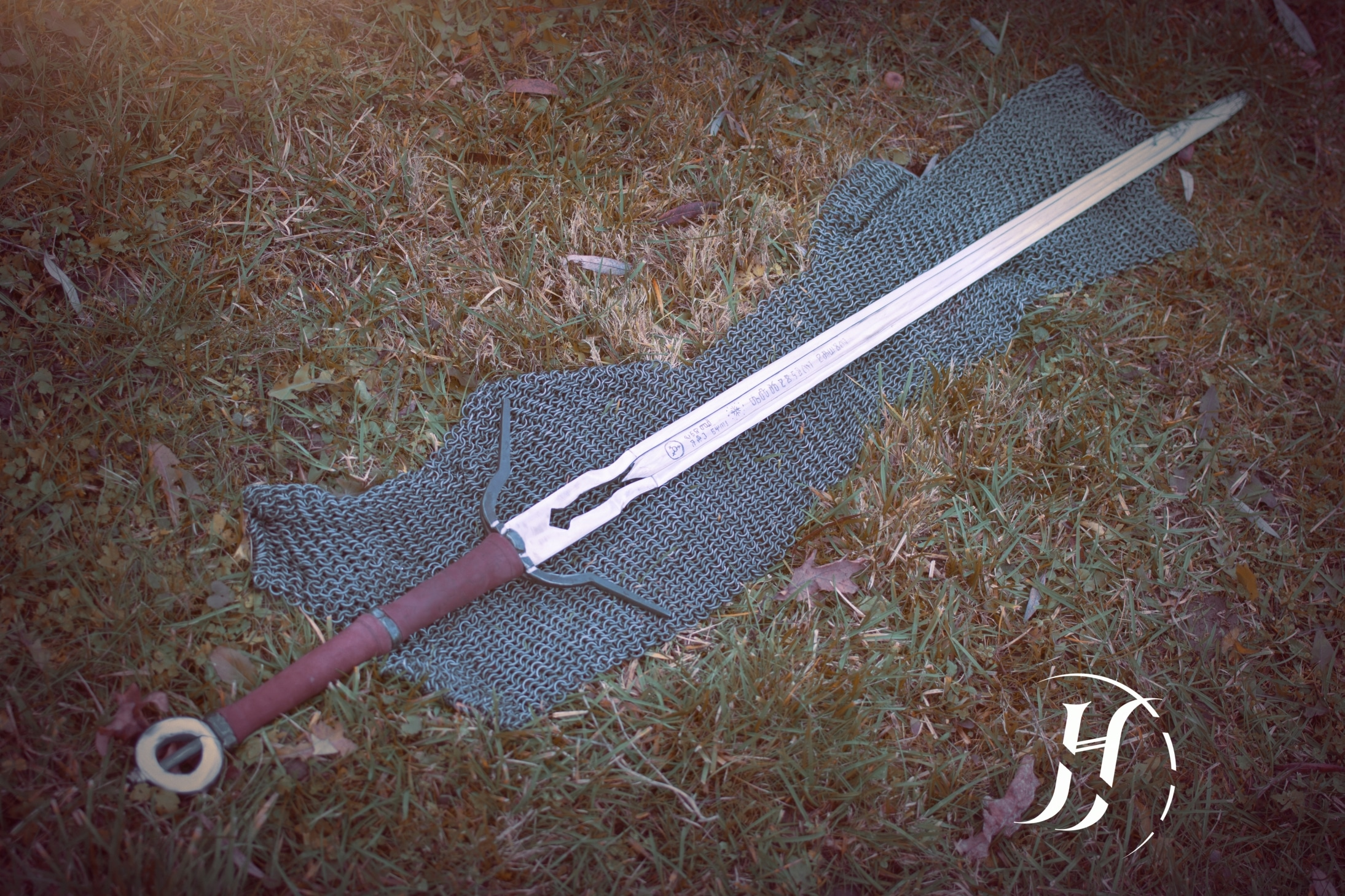 Schickes Schwert. (Foto: Alan Haart Padziński)