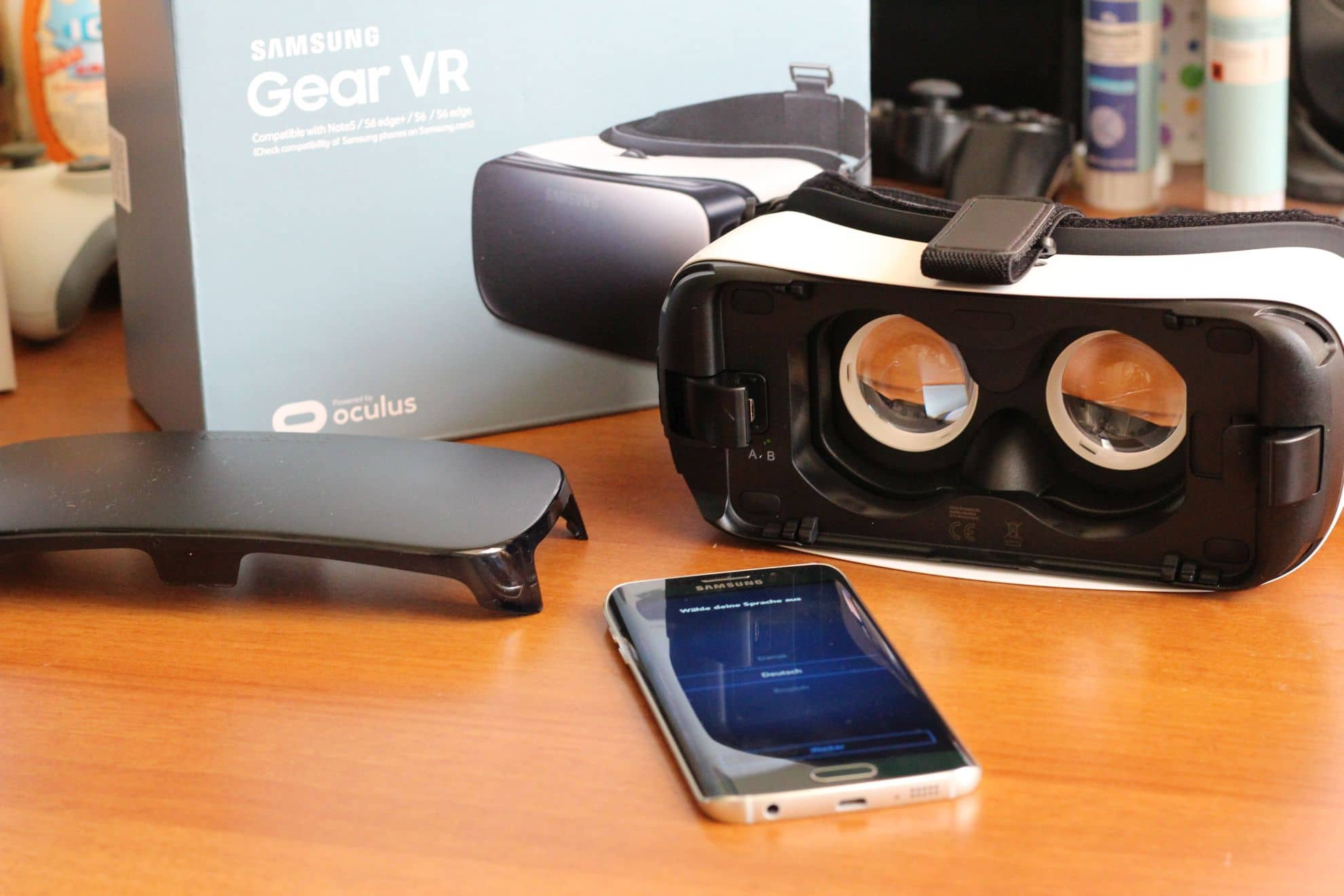 samsung gear vr so verwendet ihr cardboard apps auf der. Black Bedroom Furniture Sets. Home Design Ideas