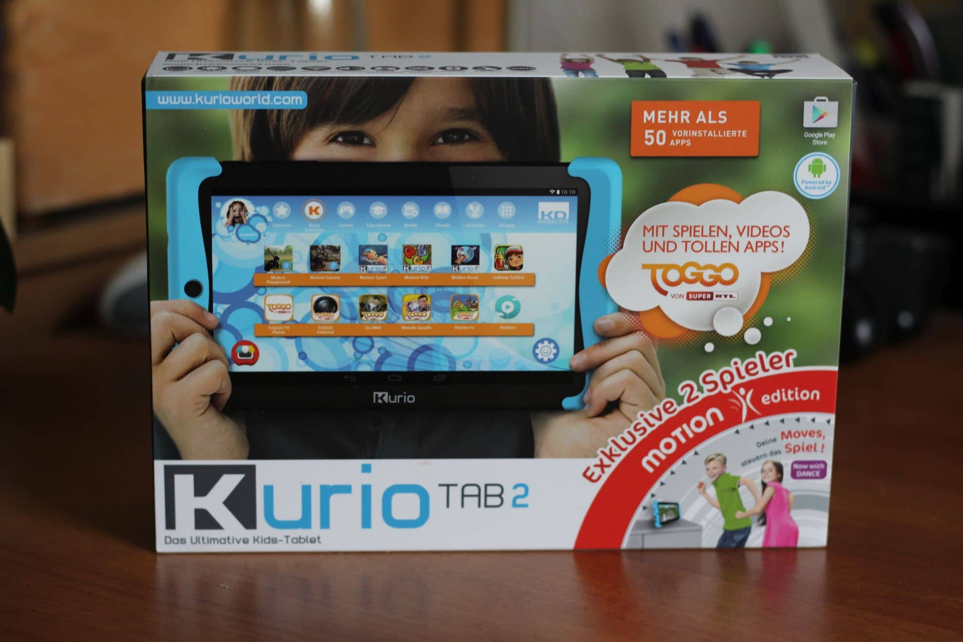 Was taugt wohl das Kurio Tab 2? (Foto: Sven Wernicke)