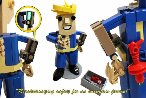 Pip Boy aus LEGO. (Foto: Alex Jones)