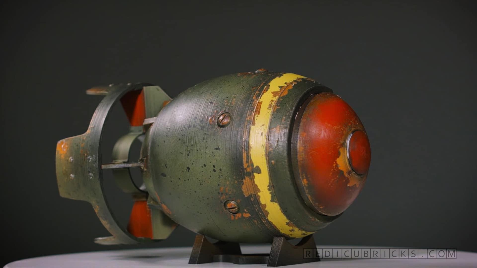 Atombomben können auch schön sein. (Foto: Redicubricks)