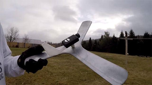 Ein ganz besonderer Bumerang. (Foto: Screenshot)