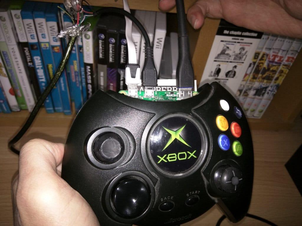 Der Controller als Spielkonsole. (Foto: Terence Eden)