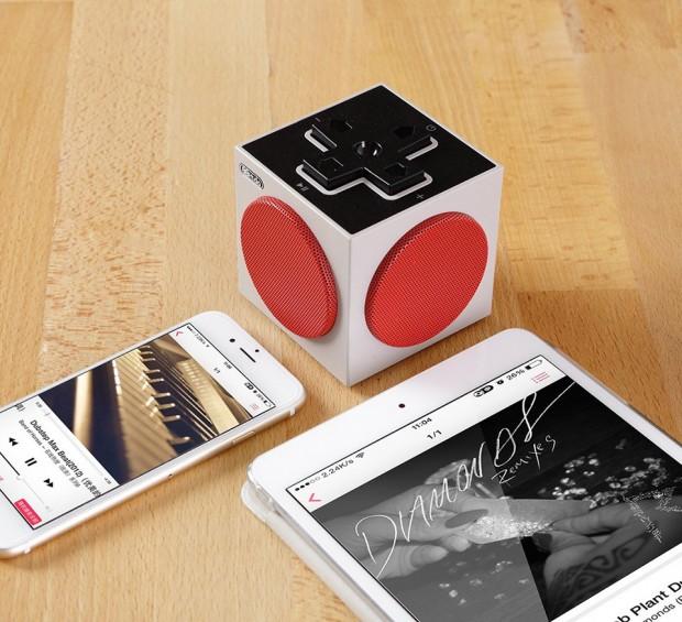 Ein stylischer Retro-Lautsprecher. (Foto: 8bitdo)