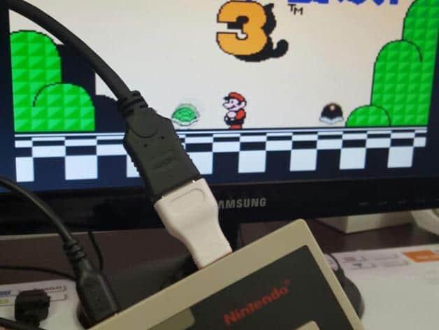 Mario mit einem NES-Controller spielen. Im wahrsten Sinne des Wortes... (Foto: Thingiverse)