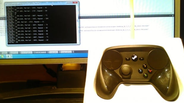 Der Steam Controller als Musicplayer? Verrückt! (Foto: YouTube)