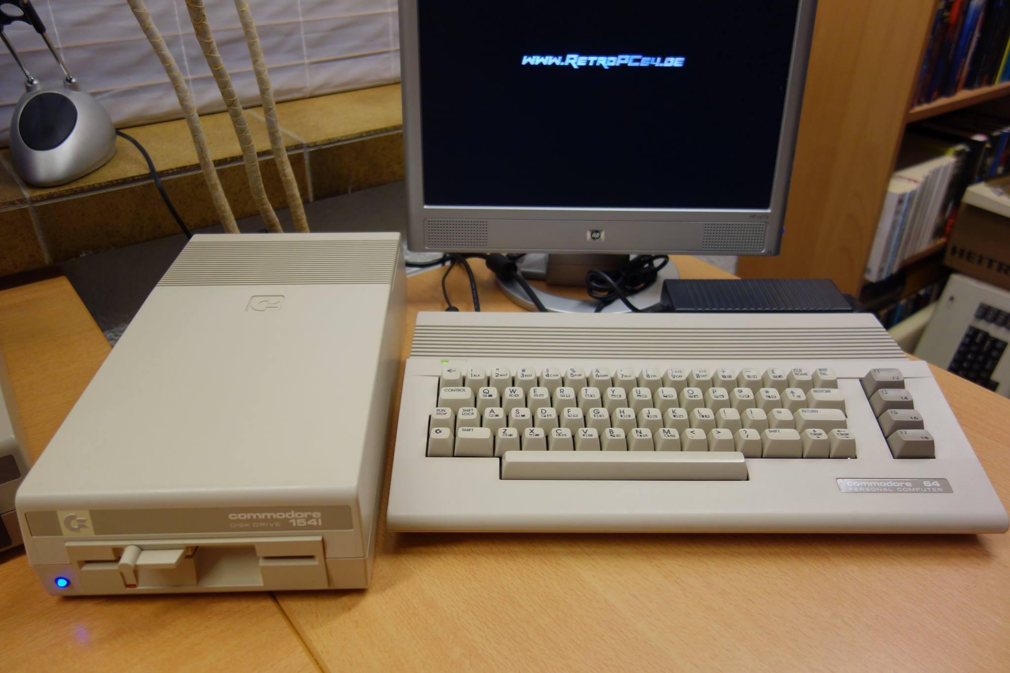 Andreas Wagener rüstet C64, Amiga und andere Antiquitäten für die Zukunft