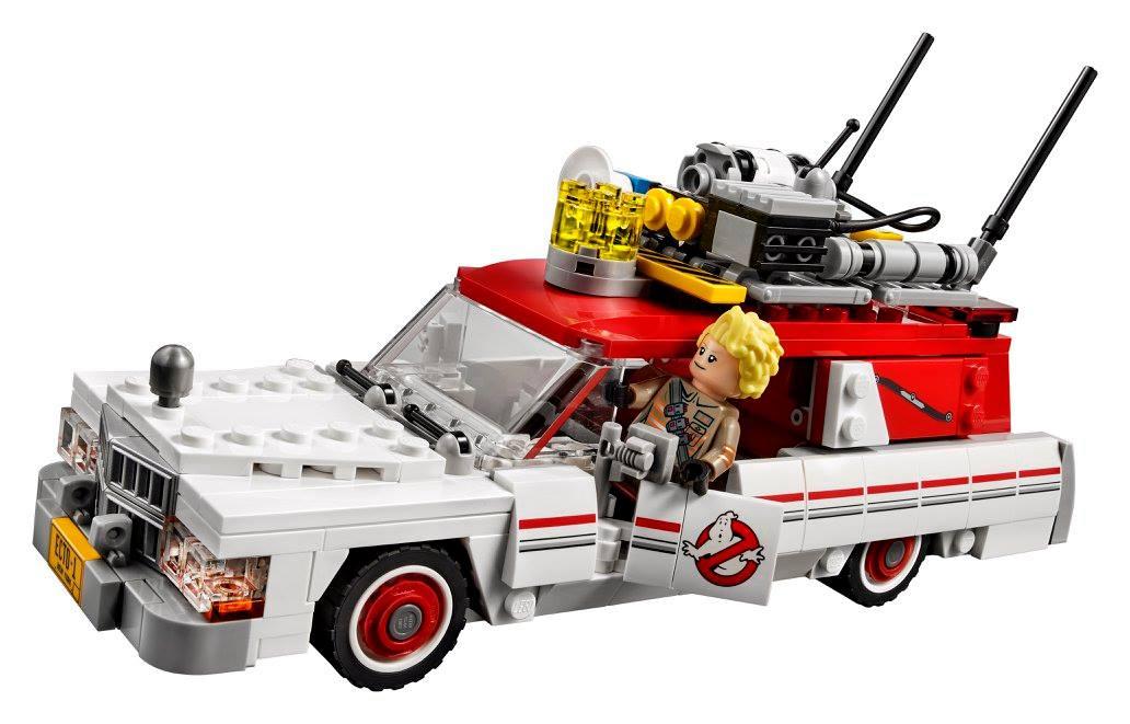 lego ghostbusters ecto 1 2 vehikel und geisterj gerinnen. Black Bedroom Furniture Sets. Home Design Ideas