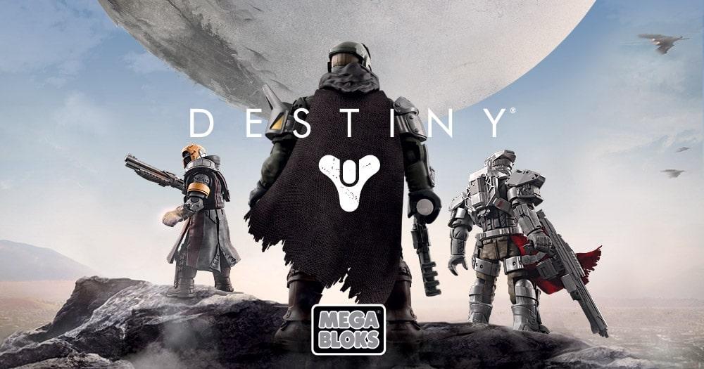 Destiny trifft auf Spielzeug. (Foto: Mega Bloks)