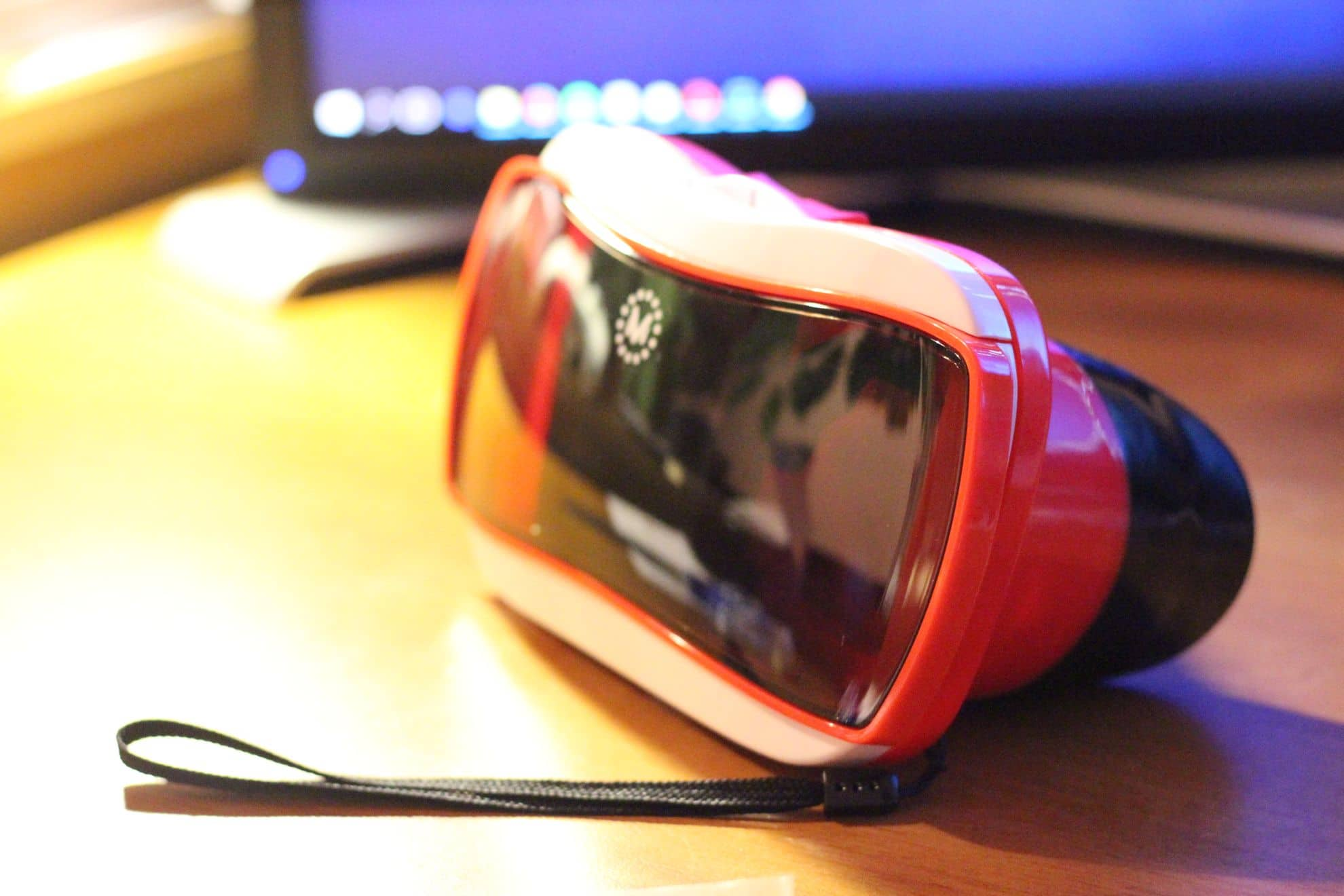Was kann diese VR-Brille? (Foto: GamingGadgets.de)