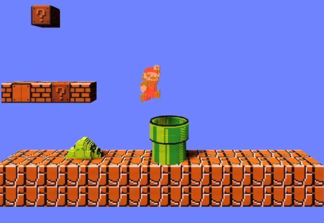 Mario in 3D, aber trotzdem voll Retro?! (Foto: Screenshot)