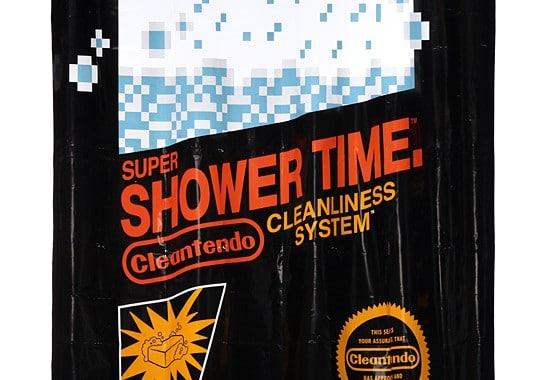 Witziges Motiv für einen Duschvorhang. (Foto: ThinkGeek)