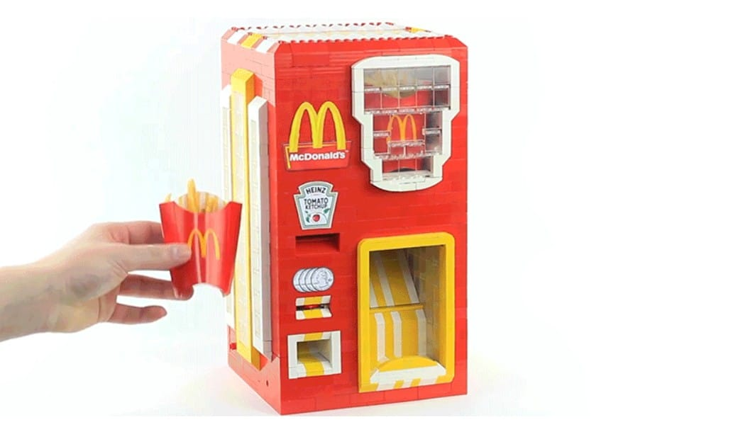 LEGO French Fries Mach...