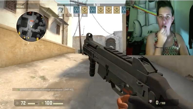 Der Lippenstift wird zur Waffe. (Foto: Screenshot)
