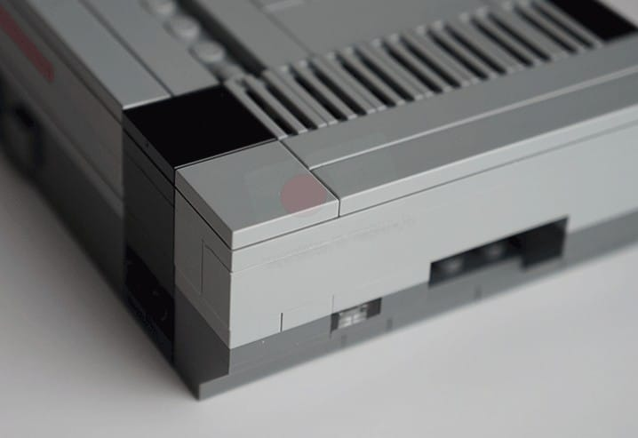 Ja, das sind LEGO-Bauteile. (Foto: RaspiPC.es)