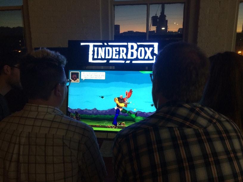 Indie-Games in der Kneipe zocken. (Foto: TinderBox)