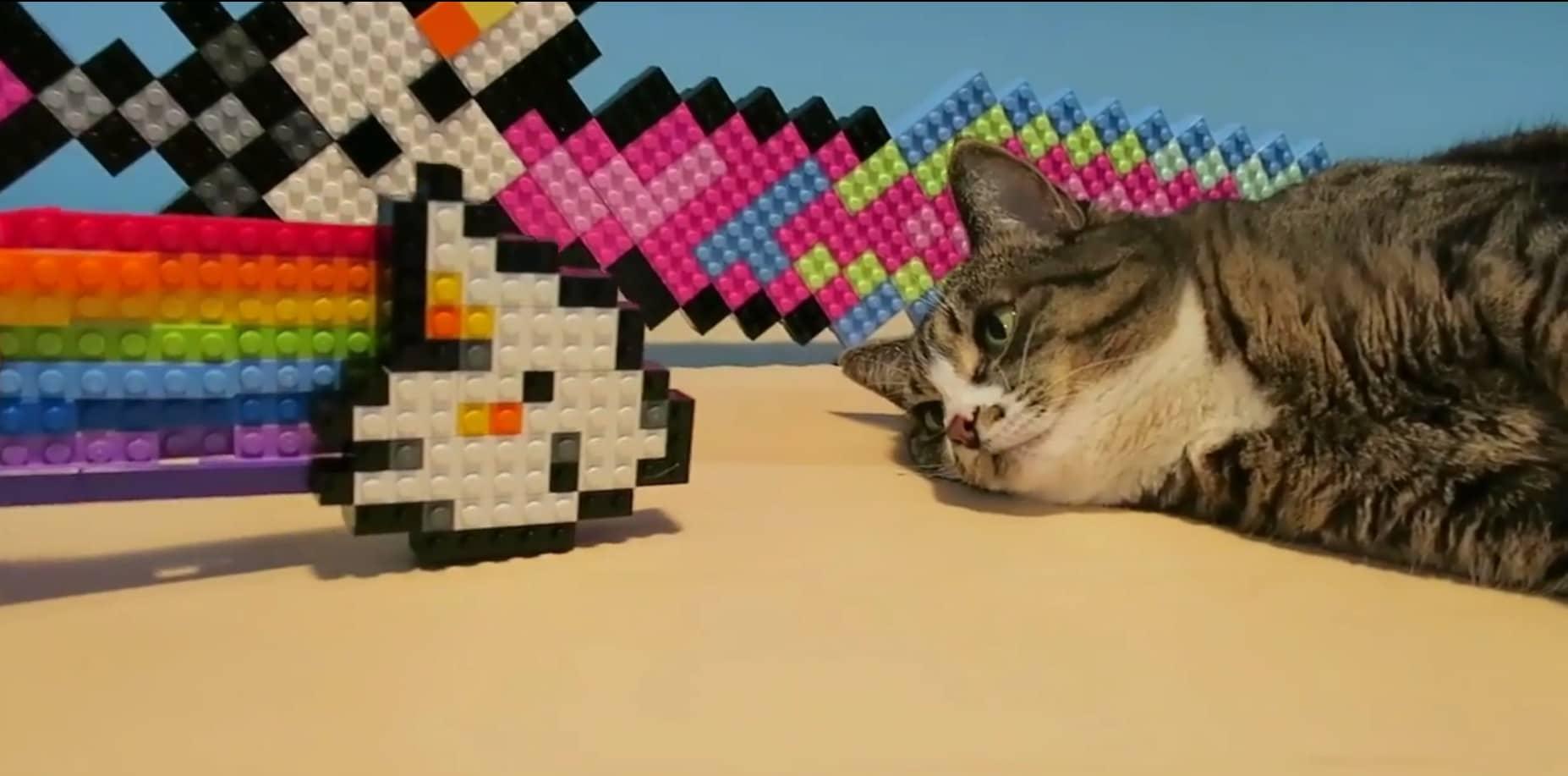 Süß. Das LEGO-Zeugs auch. (Foto: Screenshot)