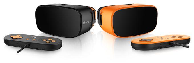 VR-Brille zum Spielen und mehr. (Foto: Pico VR)