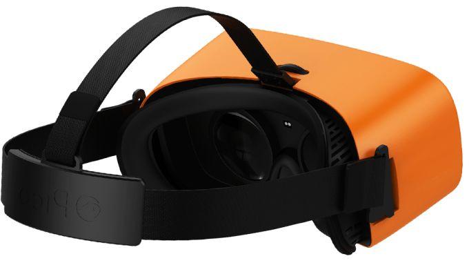 Erinnert sicher nicht zufällig an die Gear VR von Samsung. (Foto: Pico VR)
