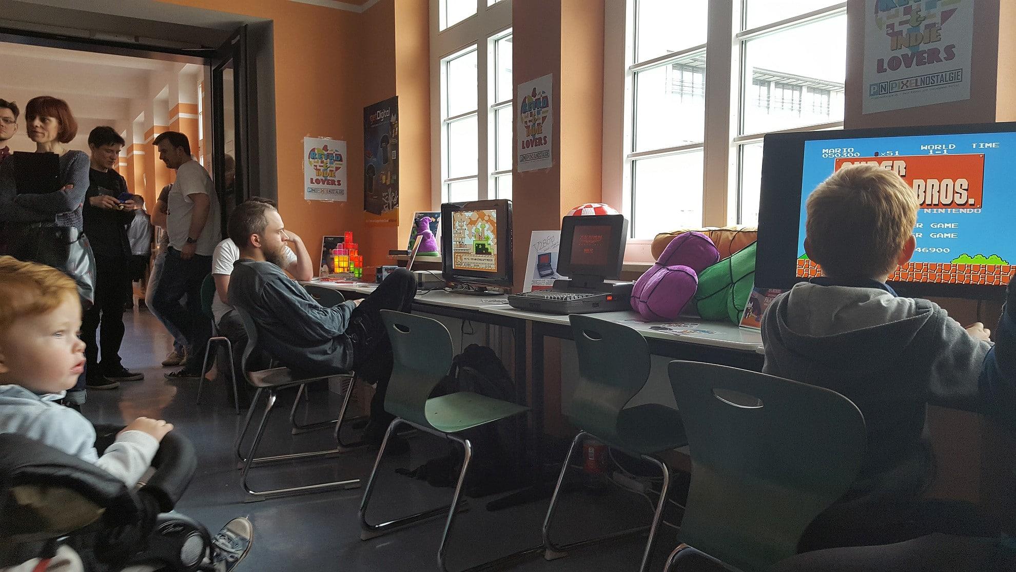 Jeder kam zum Spielen dran - es war nicht überfüllt. (Foto: GamingGadgets.de)