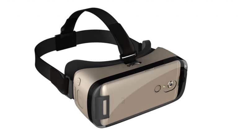 Die VR-Brille fürs Axon 7. (Foto: ZTE)