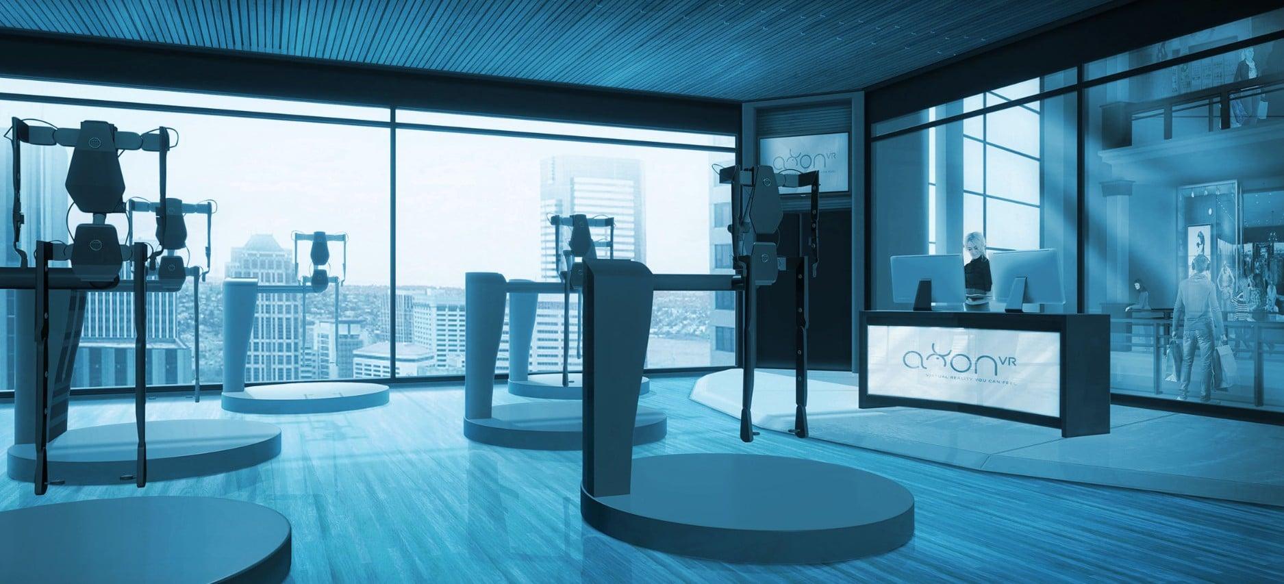 Das Fitnessstudio der Zukunft? (Foto: AxonVR)